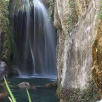 Cascada principal de las Fuentes del Algar (Alicante)