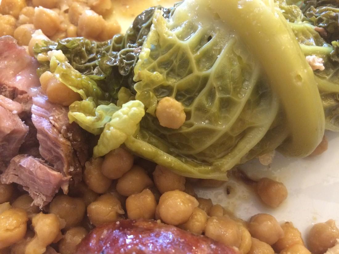 Cocido madrileño con pelotas valencianas www.familiasdisfrutonas.es