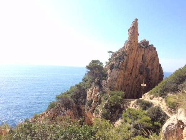 Falla del Morag en Benitatxell (Alicante)