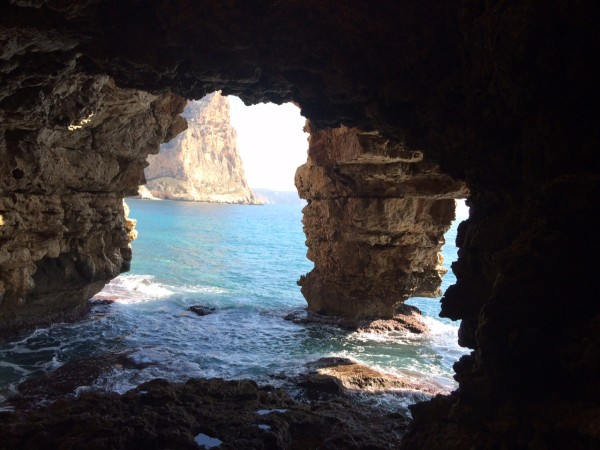 Cueva dels Arcs en Benitatxell (Alicante)