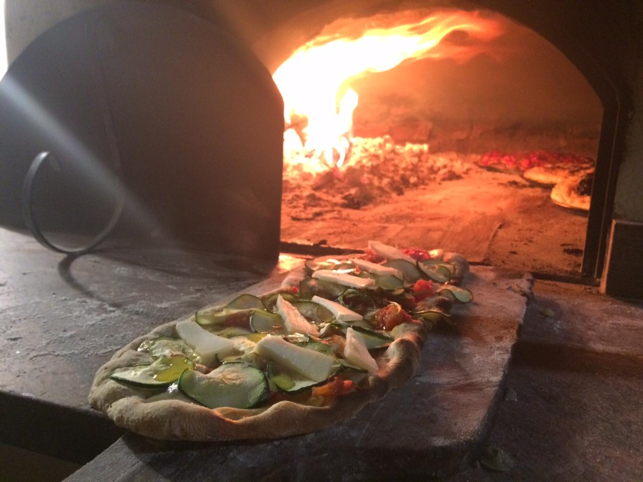 Receta de pizza casera sin amasar