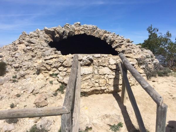 Nevera de la Habitación. Sierra de Mariola (Alicante)