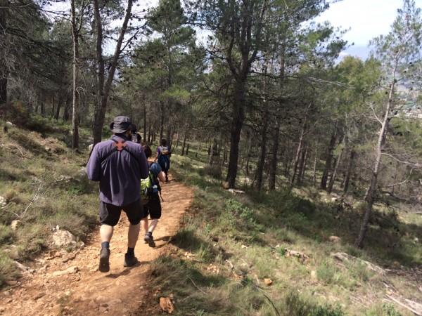 Haciendo la ruta de las neveras (Alicante)