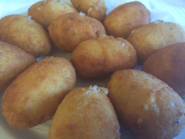 Croquetas de jamón del Restaurante Manrique en Sotosalbos (Segovia)