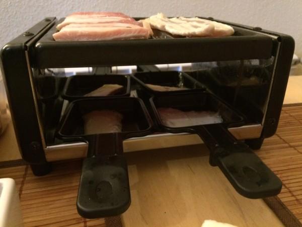 Raclette, una comida divertida para hacer con peques