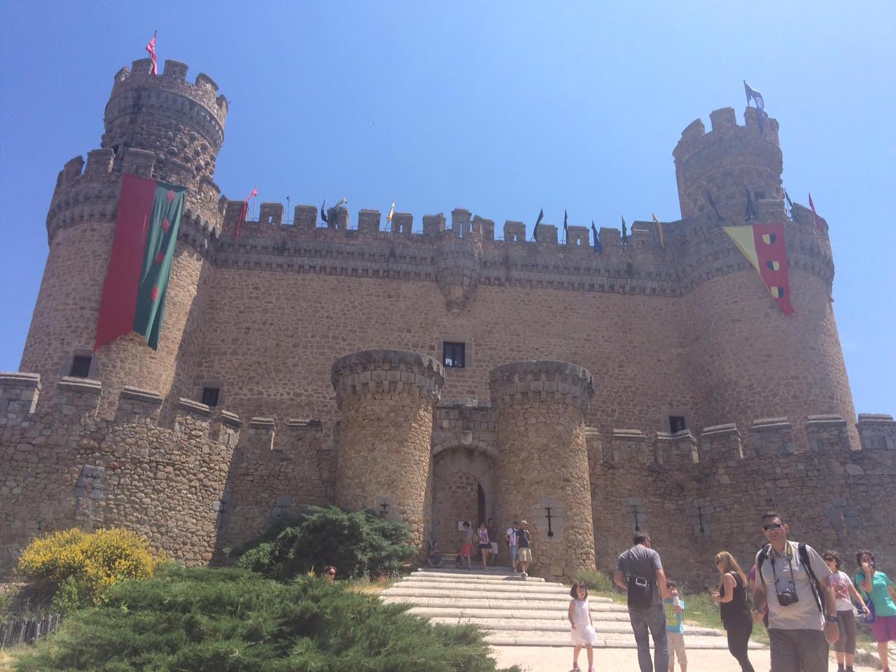 Fin de semana medieval en el Castillo de Manzanares el Real (Madrid)
