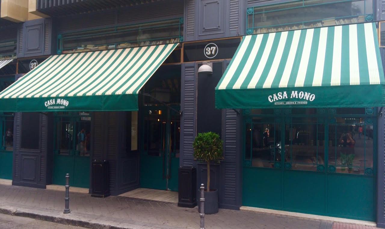 Restaurante casa mono epic reo y bonito punto de encuentro en madrid - Casa de cantabria en madrid restaurante ...