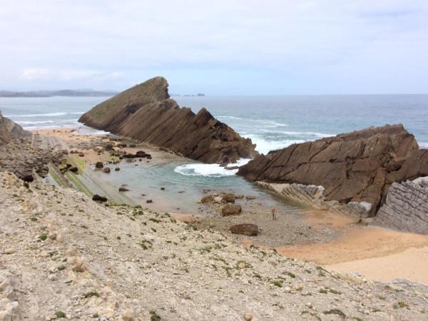 Playa de los Maderos en Liencres (Santander)