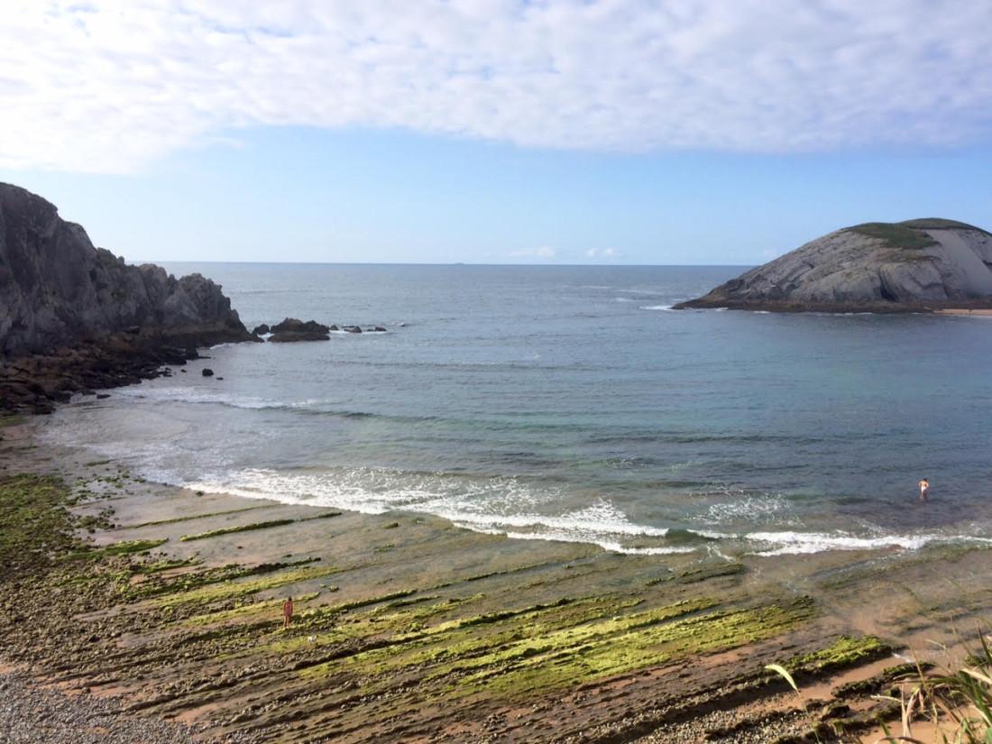 Playa de Arnía en Liencres (Santander)