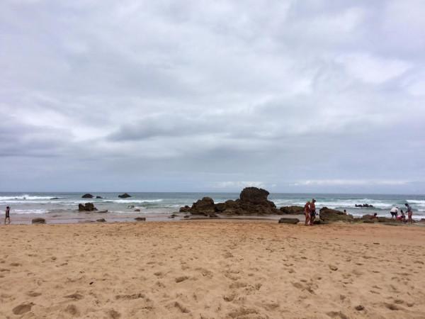 Playa de Canallave en Liencres (Cantabria)