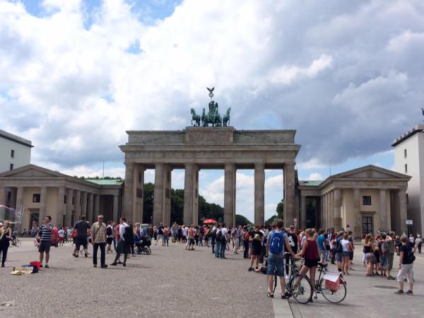 Plaza de la  puerta de Brandenburgo (Berlín)