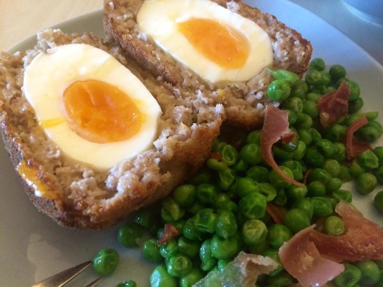 Receta de bolitas de carne con sorpresa de huevo