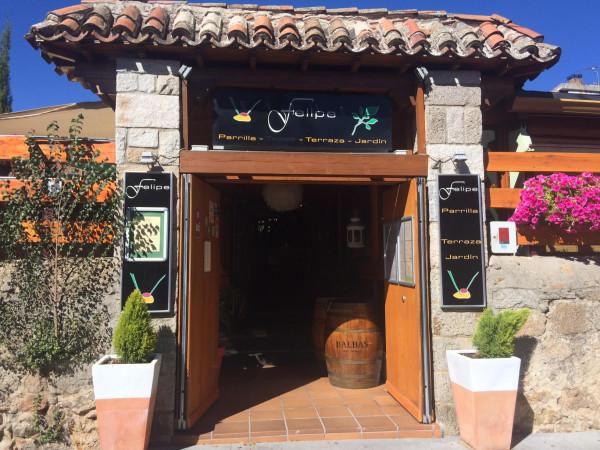 Exterior del Restaurante Terraza Jardín Felipe (Navacerrada)