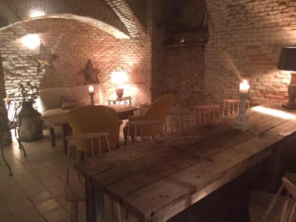 Parte de abajo del restaurante Maricastaña (Madrid)