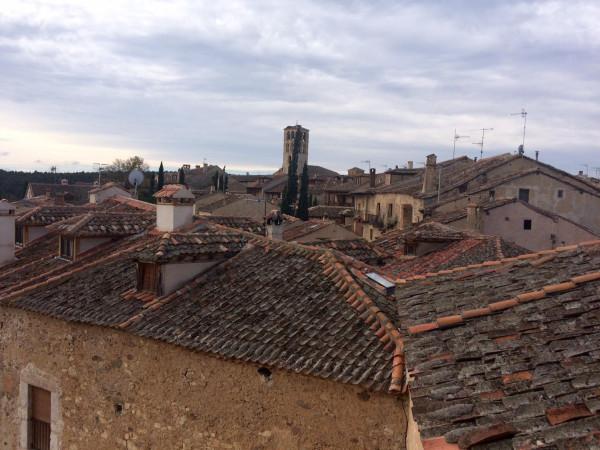 Vistas de Pedraza desde la Cárcel de la Villa (Segovia)