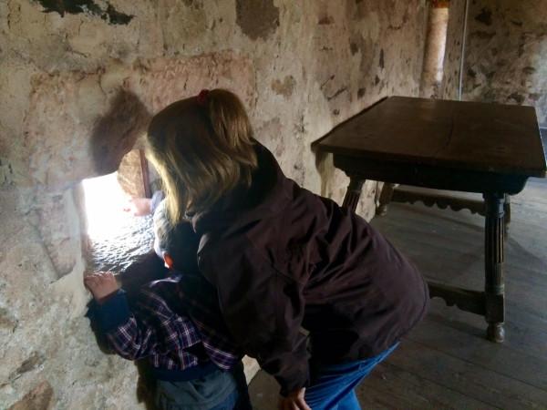 Viendo Pedraza desde la Cárcel de la Villa (Segovia)