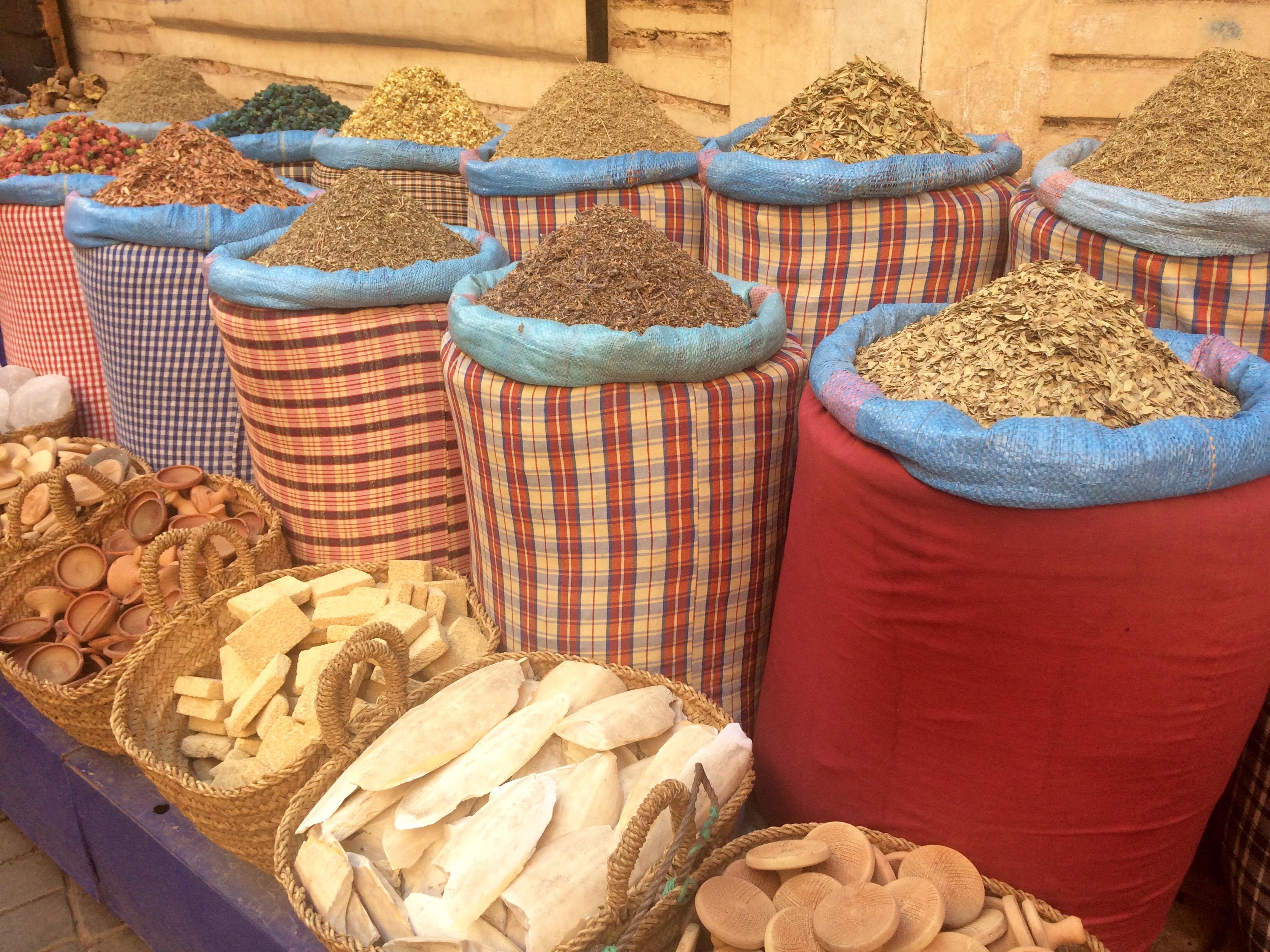 Mercados de la medina de Marrakech