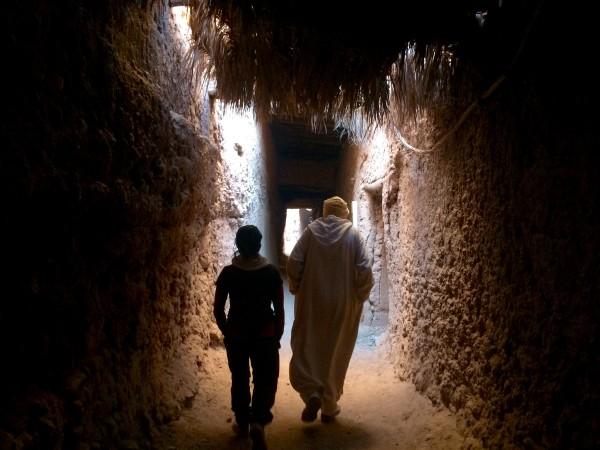 Visitando la Kasba Ouled Driss