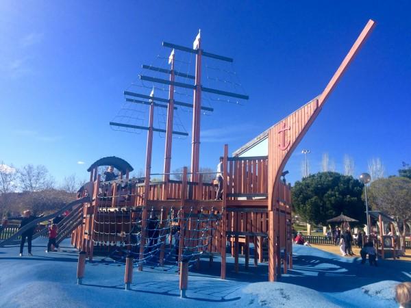 Parque del barco pirata (Alcobendas)