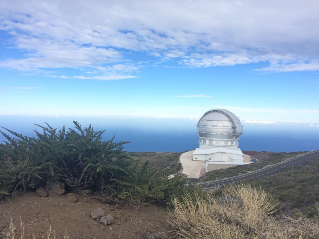 GRANTECAN en Observatorio Roque de los Muchachos (La Palma)