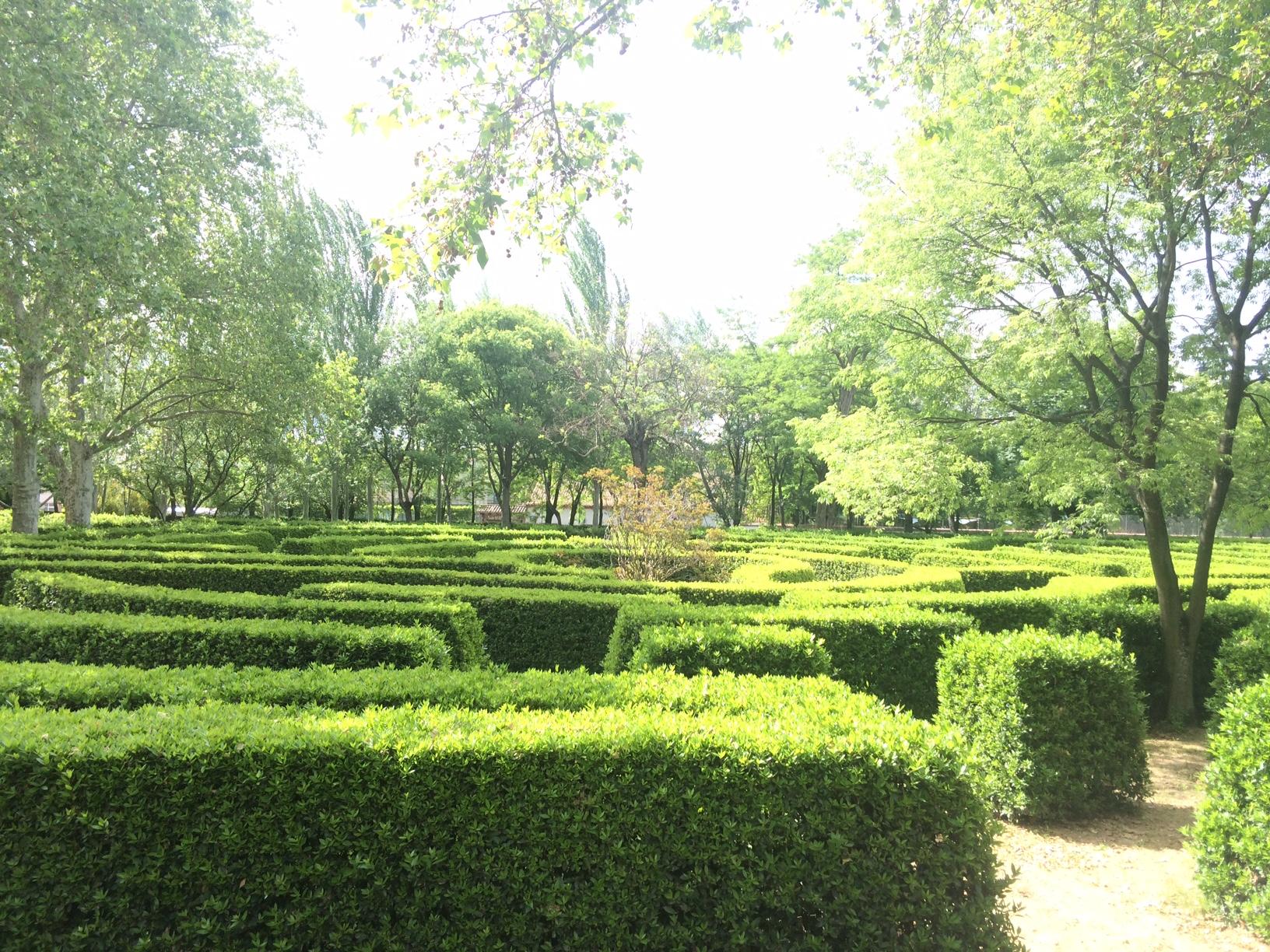 Laberinto Parque del Capricho