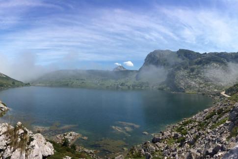 Lago Enol (Covadonga. Asturias)