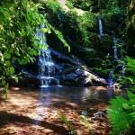 Cascada de los molinos del rio Profundu