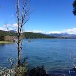 Vistas desde la Ruta del Agua (Guadarrama, Embalse de la Jarosa)