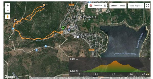 Ruta del Cerro de la Golondrina con Wikiloc