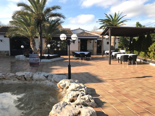 Terraza del restaurante Ca la Iaia