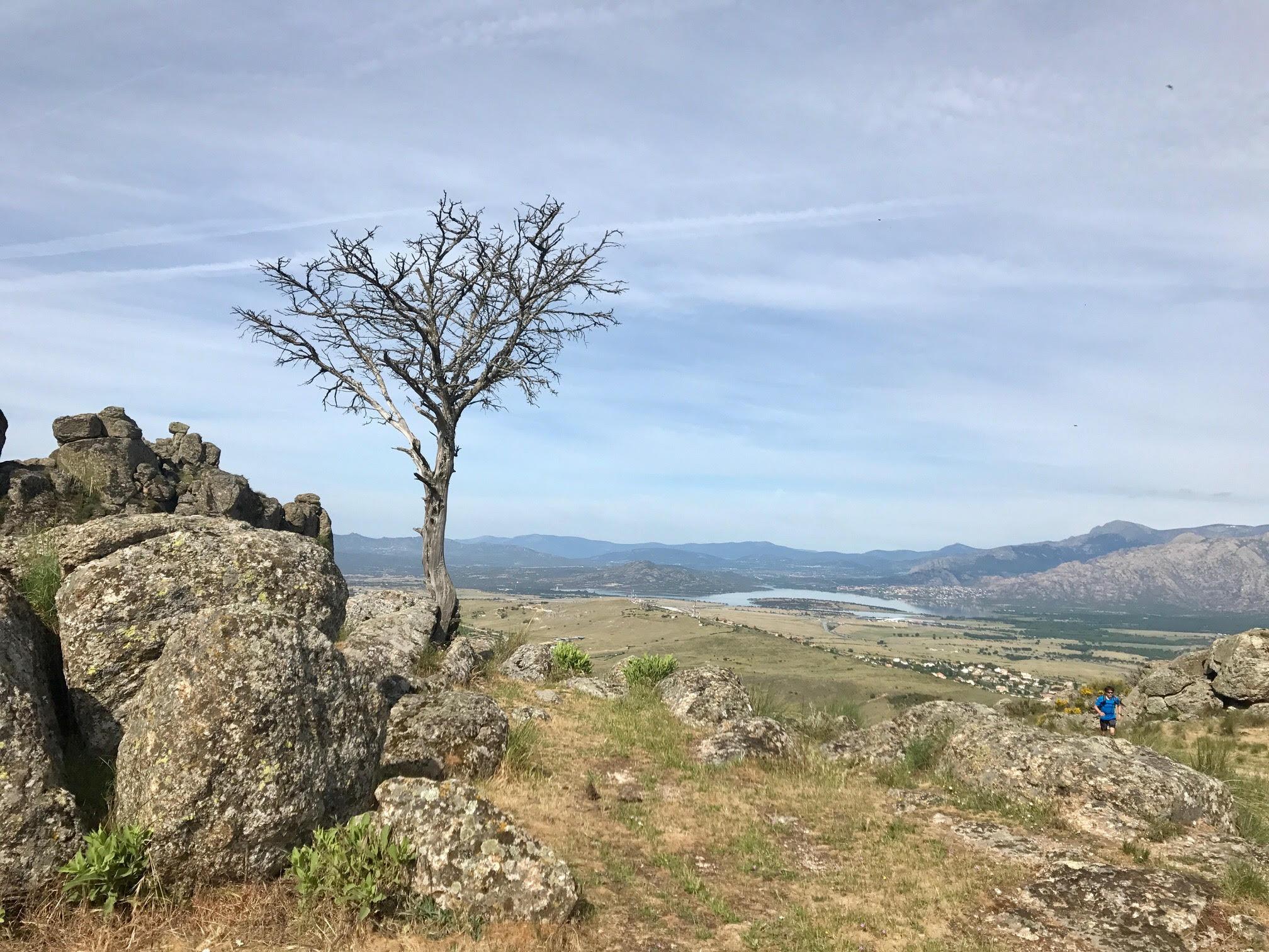 Vistas en el ascenso al Pico de San Pedro