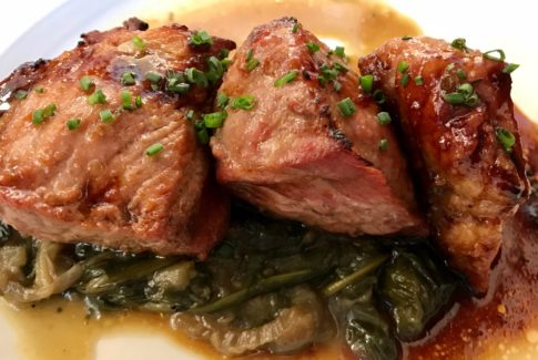 Imagen de plato de carne