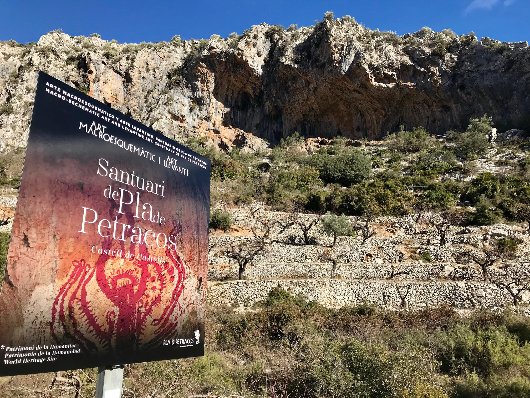 Pinturas ruprestres Pla de Petracos (Alicante)