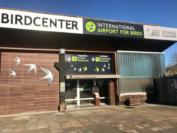 Entrada al Urdaibai Bird Center (Bizkaia)