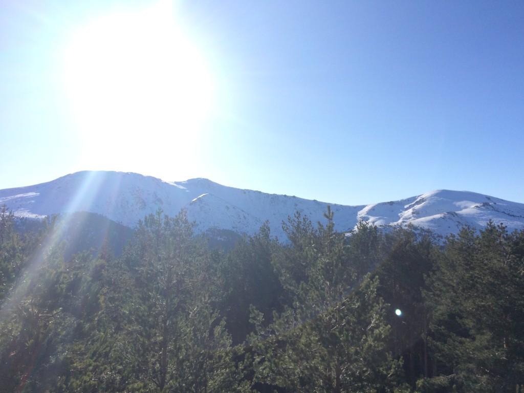 Vistas desde el mirador de la Gitana