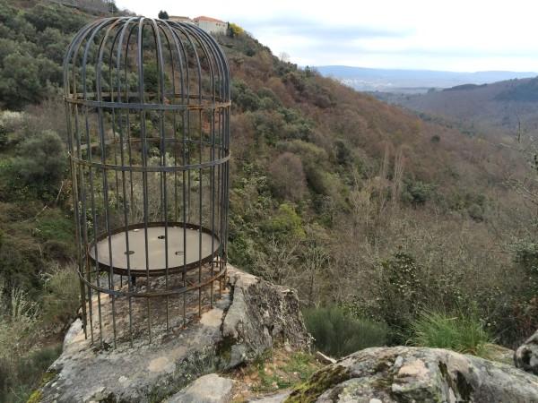 Senda del agua. Arte en la naturaleza. Mogarraz, sierra de Francia (Salamanca)