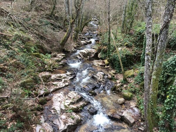 Senda del agua en Mogarraz, sierra de Francia (Salamanca)