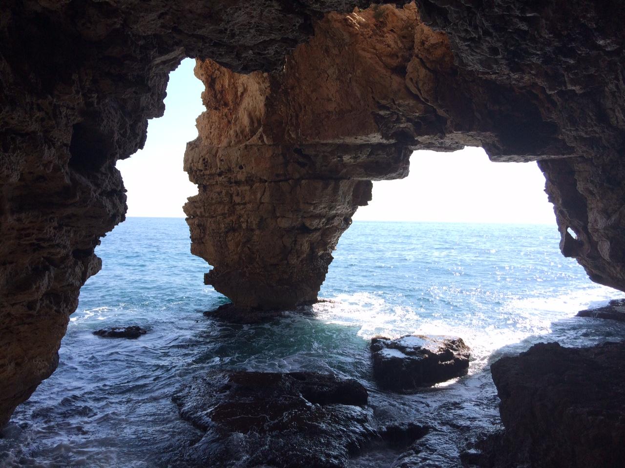 Cova dels Arcs en Benitatxell (Alicante)