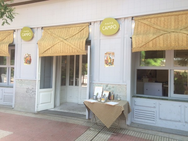 Restaurante Mamá Campo. Plaza Olavide (Madrid)