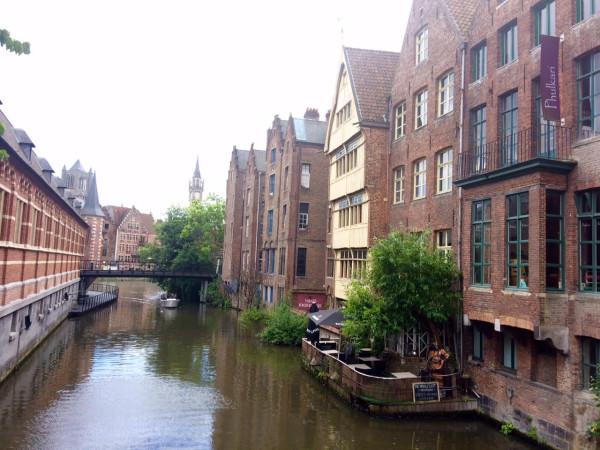 Canales de Gante (Bélgica)