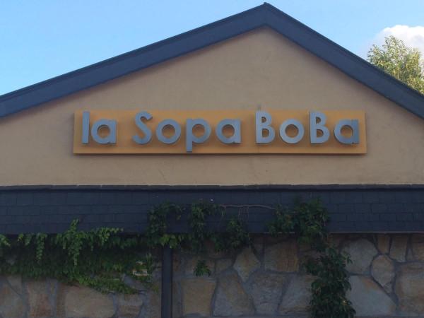 Restaurante la Sopa BoBa en Alpedrete (Madrid)