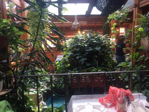 Interior del Restaurante Terraza Jardín Felipe (Navacerrada)