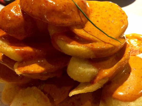 Patatas bravas en LaBarra (Barcelona)