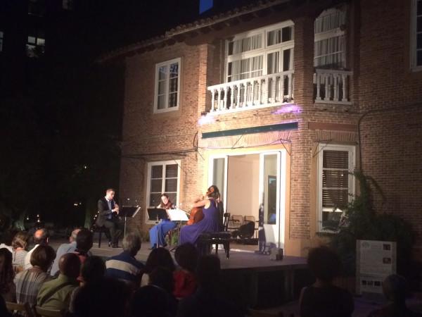 Concierto de música clásica en la Fundación Entre Olivos (Madrid)