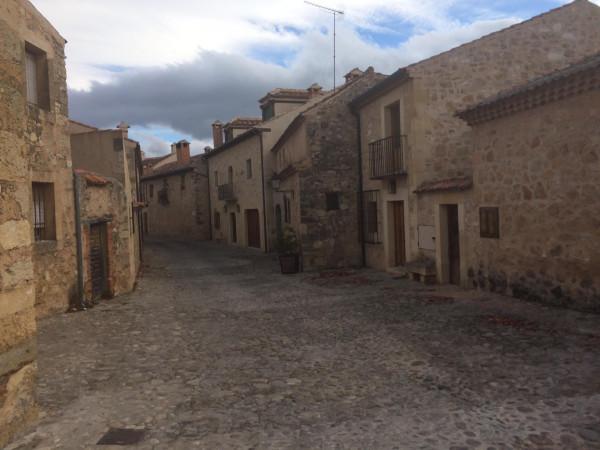 Las calles de Pedraza. Segovia