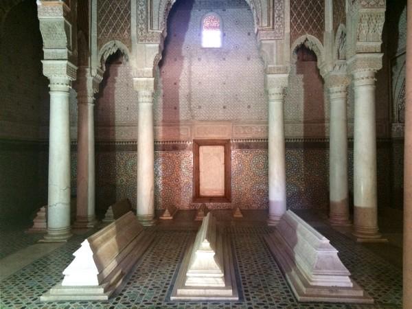 Tumbas saudíes (Marrakech)