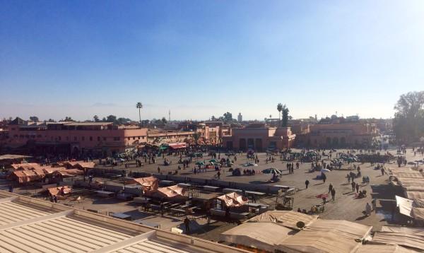 Plaza Jamaa el Fna (Marrakech)