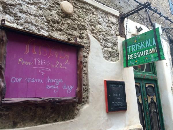 Restaurante Triskala en Essaouira