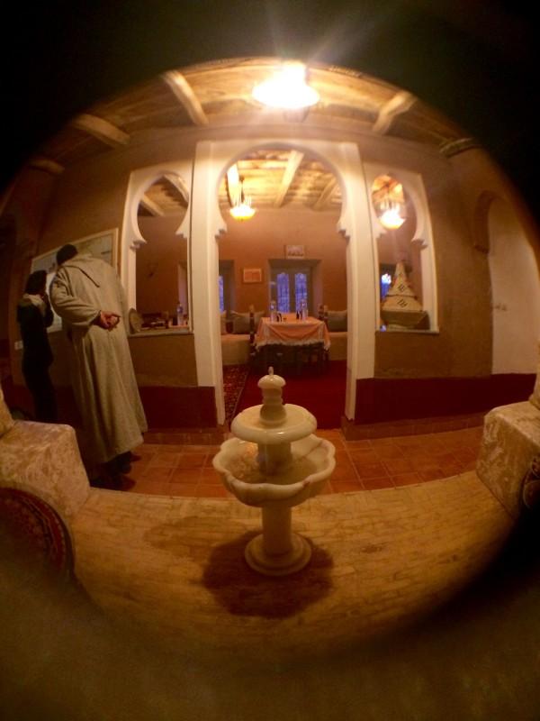 Nuestro alojamiento en las gargantas del Dadés (Marruecos)