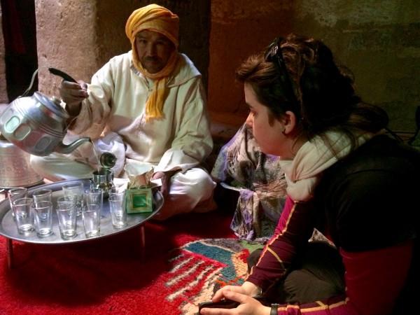 Aprendiendo la ceremonia del té